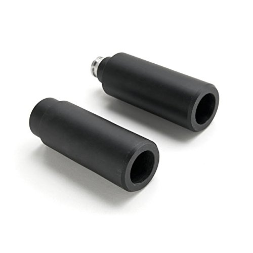 Krator MT219-048 Black Slider (Suzuki SV650 / SV1000 / DL650 / DL1000 No Cut (Years) Frame Bobbins Crash Protectors Motorcycle Sportbike),