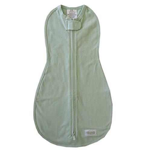 - Woombie Original Baby Swaddling Blanket, Pistachio, 5-13 lbs