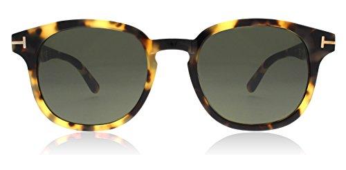 Tom Ford FT0399 56N Havana Frank Oval Sunglasses Lens Category 3 Size 50mm N 3 Sunglasses