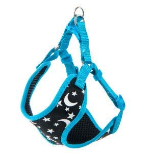 WHISKER CITY Glowing Moon Cat Harness