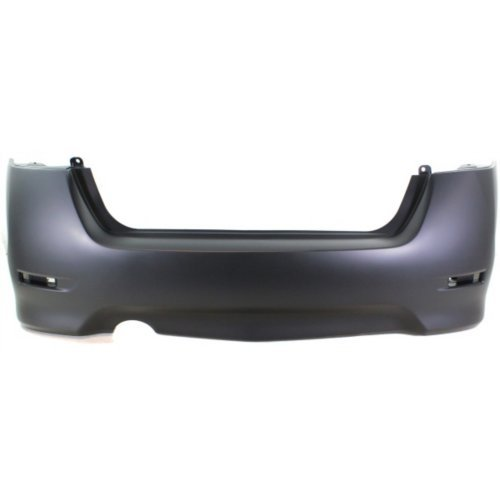 Rear Bumper Cover Compatible with NISSAN SENTRA 2013-2015 Primed Sport Type SR Model