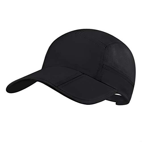 GADIEMKENSD Folding Running Man Hat Visors Sport Cap Summer Mesh Quick-Drying Hat