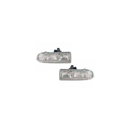 Chevy/GMC S-10 Pickup/S10 Blazer Headlights Headlamps Driver/Passenger Pair New (Headlight S10 Blazer Chevy)