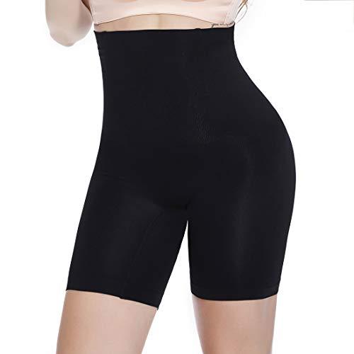 Joyshaper Thigh Slimmer Shapewear Panties for Women Slip Shorts for Under Dresses Waist Cincher Girdle