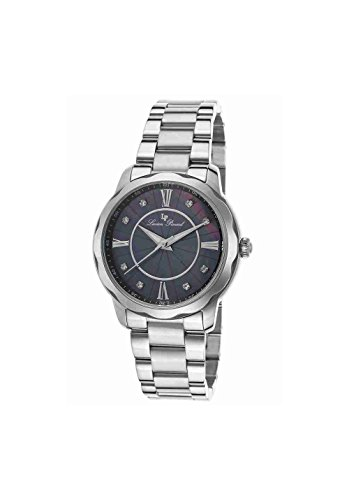 Lucien Piccard Women's 'Balarina' Quartz Stainless Steel Casual Watch (Model: LP-40000-11MOP)