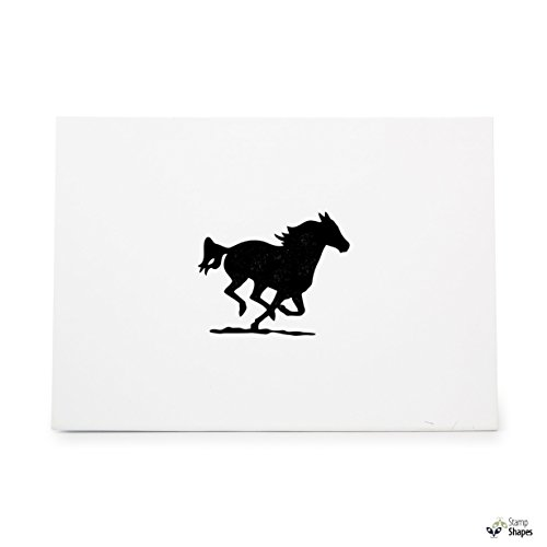 (Running Horse , Rubber Stamp Shape great for Scrapbooking, Crafts, Card Making, Ink Stamping Crafts, Item 1321981)