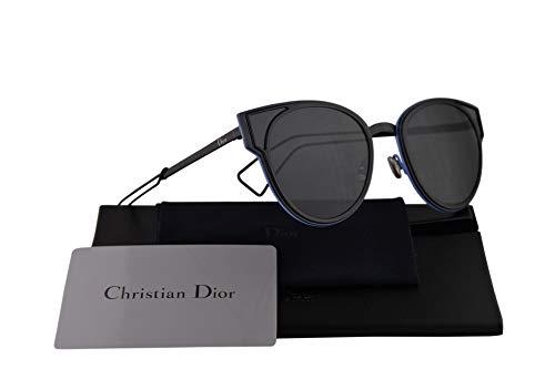 e393eb2cd94d Christian Dior DiorSculpt Sunglasses Shiny Black w/Grey Lens 63mm 006P9 Dior  Sculpt