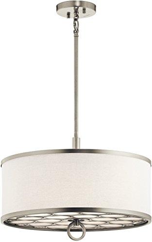Kichler 43987NI Three Light Pendant/Semi Flush Mount