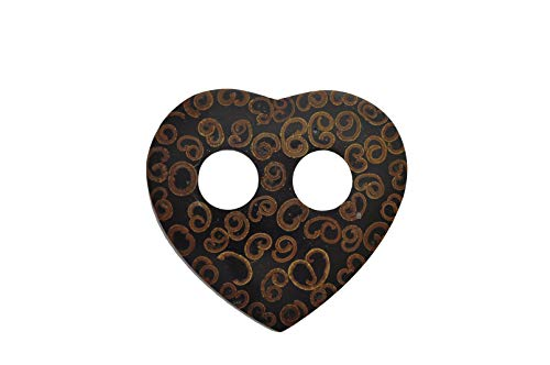 Inlays Heart Cinnamon Sarong Sarong Ties World 1 qzwH4ZPW