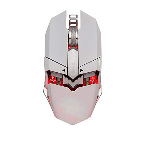 Limited Edition Optical Mouse - LFHKN Game Mouse Eat Chicken Mouse Special Edition Jedi Survival Mouse Glow White