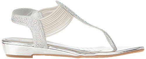 Wedge Glitter PAIRS Spark Women's Sandal Silvr DREAM RtxSS