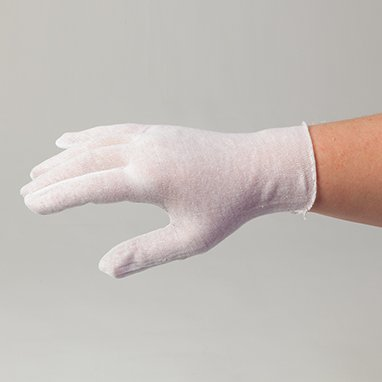 Health Care Logistics 18637 Cotton Glove Liners (Medium)