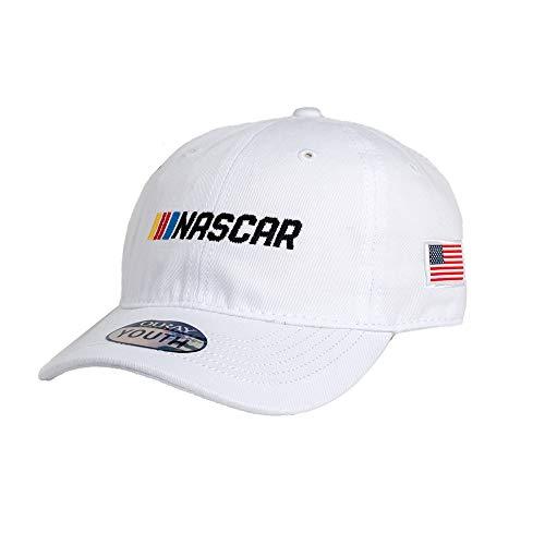 68e288f83c5bbf Ouray Sportswear NASCAR Men's 51016-WH-Adjustable-Nascar Rookie, White,  Adjustable