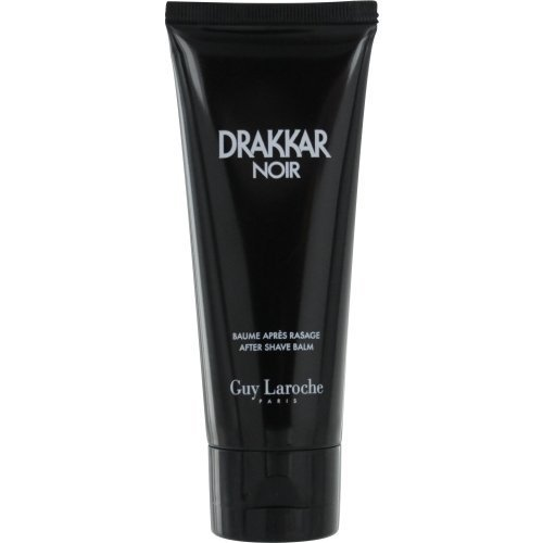 DRAKKAR NOIR by Guy Laroche AFTERSHAVE BALM 3.4 OZ ( Package Of 2 )