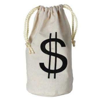 Century Novelty $ Money Bag