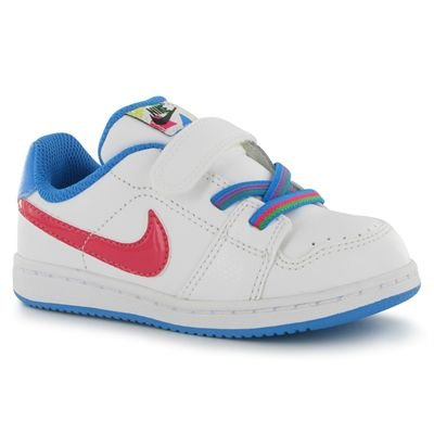 Nike - Nike Backboard Si (TDV) Zapatos Deportivos Niña Blanco 431887 - Blanco, 25,5