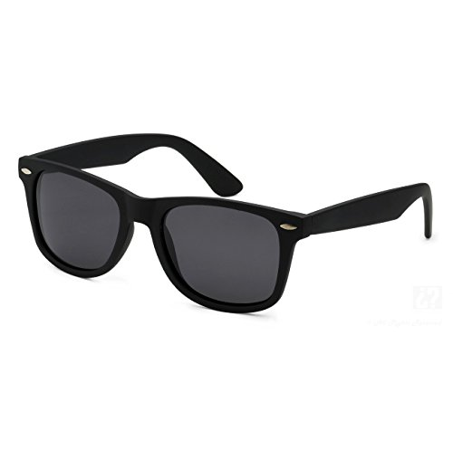 Ray Ban RB2132 Wayfarer Sunglasses-622/58 Rubber Black/Polarized Green - Sunglasses Cats 1000