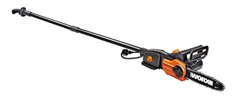 """WORX WG310 8"""" 8A Electric Power Pole Saw, Black and Orange"""