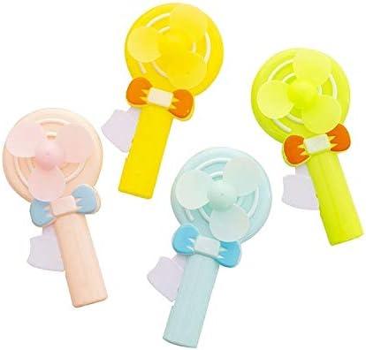 Jkorug A715 portátil de Mano de Dibujos Animados Mini Lollipop Ventilador de Juguete: Amazon.es: Electrónica