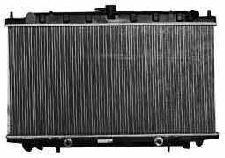 TYC 2413 Infiniti G20 1-Row Plastic Aluminum Replacement ()