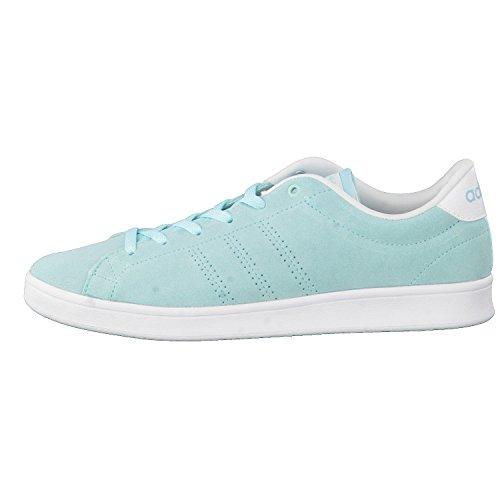 adidas Advantage Clean Qt W, Sneaker Bas du Cou Femme, Bleu (Agucla/Agucla/Ftwbla), 38 EU