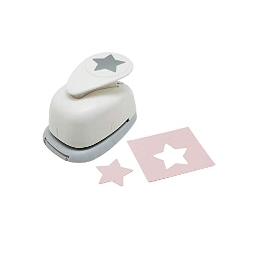Bira 1 inch Star Lever Action Craft Punch,Christmas Punch, for Paper Crafting Scrapbooking Cards Arts