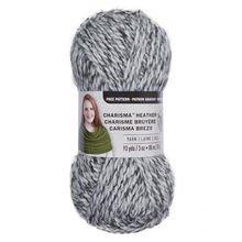 Loops & Threads Charisma Heather Yarn - Light Gray - 3 oz - One Ball