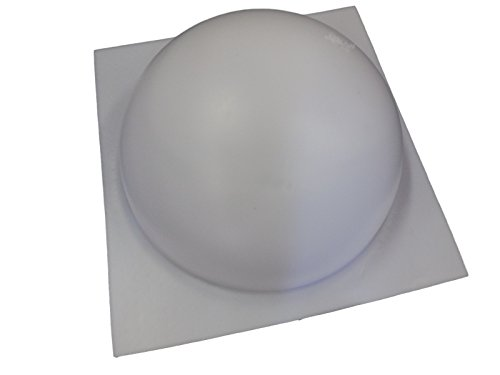 5 Inch Half Sphere Ball Concrete or Plaster Mold 7021