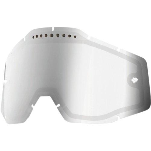 100% - Ecran Double 100% Racecraft/accuri/strata Miroir Or / Fume Silber
