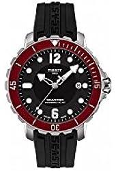 Tissot T-Sport Seastar 1000 Black Dial Automatic Men's Watch T0664071705703