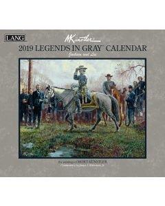 Legends in Gray 2019 Calendar