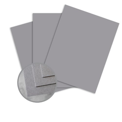 CLASSIC CREST Pewter Card Stock - 26 x 40 in 80 lb Cover Smooth 300 per Carton