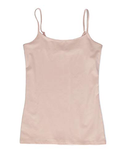 Ann Taylor LOFT Outlet Women's Cotton Stretch Camisole Tank (X-Small, Blush Whisper) from Ann Taylor LOFT