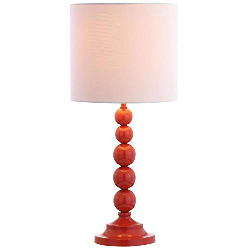 Safavieh MLT4000A Lighting Collection Almeria Orange Table Lamp ()