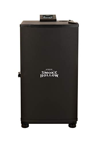 Masterbuilt Smoke Hollow SH19079518 Digital Electric Smoker, Black