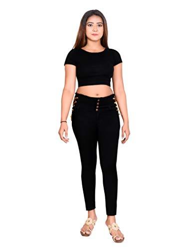 Queenie Regular Women Black Jeans