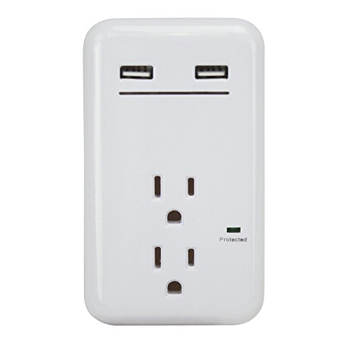 PRIME 2-Outlet 450 Joules General Use Surge Protec...