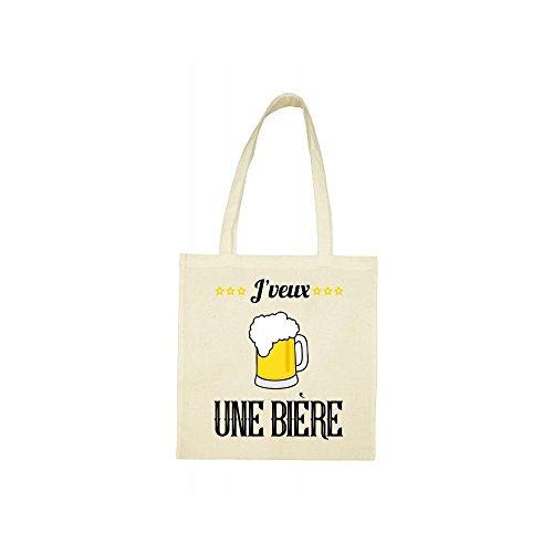 une bag jveux biere beige Tote qFvCq