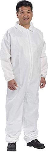 AMZ High Performance Adult Coverall White