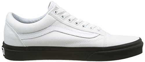 Adulto Skool Vans Zapatillas Blanco Mlx Unisex Old qB7x7wI