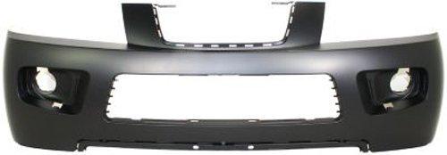 Crash Parts Plus Primed Front Bumper Cover Replacement for 2006-2007 Saturn Vue