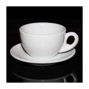 6acbbf62dcc Palermo Style Cappuccino Espresso Latte Cups White By Nuova Point