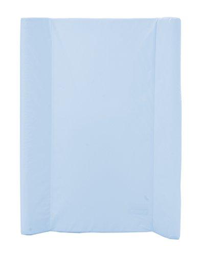 Wickelmulde Wickelauflage mit Schaumstoff-Füllung und Öko Tex Zertifizierung, 70x50 cm, Blau
