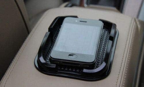 Black RONSHIN Auto Accessories Car Mobile Phone Holder Non Slip Dashboard Mat Anti Skid Grip Mount