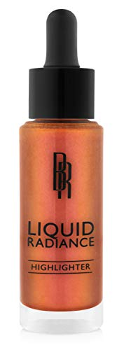 Black Radiance Liquid Radiance Highlighter, Weight In Rose, 1 Ounce
