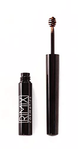 (RIMIX Cosmetics Brow Fixx - Long Lasting Smudge Proof & Waterproof Tinted Eyebrow Gel with Brush - Natural Hairlike Eye Brow Makeup For Women, Blondie)