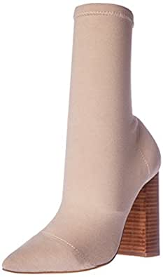 TONY BIANCO Women's Diddy Boots, Beige (Nude Onyx), 10 US