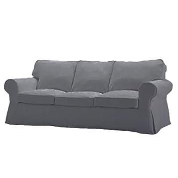 Funda de repuesto para sofá de tres plazas Ektorp de IKEA ...