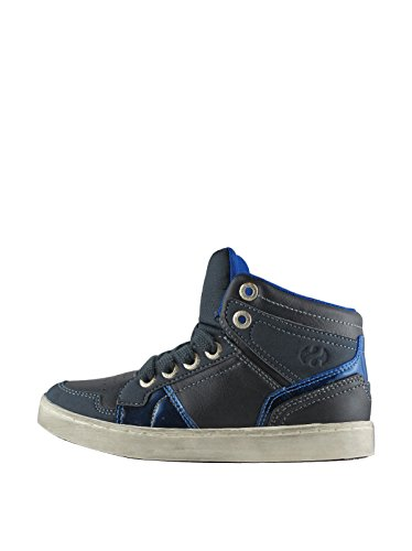 Sneakers - 4526-syntleaj - Bambini Navy-Blue Royal