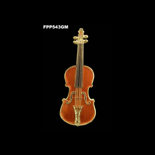Stradivarius Violin Pin